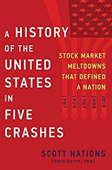 book cover for 'A History of the United States in Five Crashes'