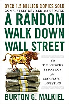 book cover for 'A Random Walk Down Wall Street'